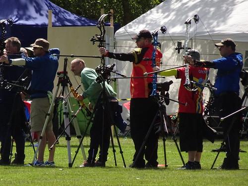 Archery in Visby-Rävhagen (Inter Island Games Gotland)