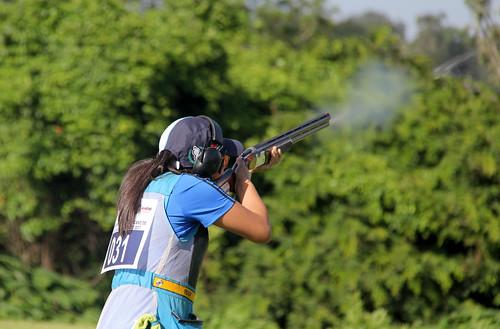 Skeet Femenino, V Campeonato Iberoamericano de tiro con armas de caza del Festival Deportivo Internacional