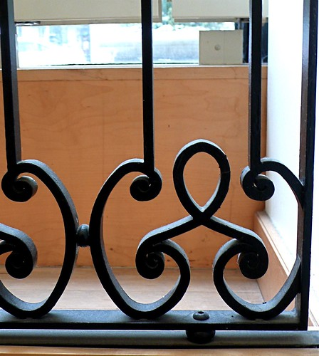 Cast Iron Railing detail at Marshall Fields