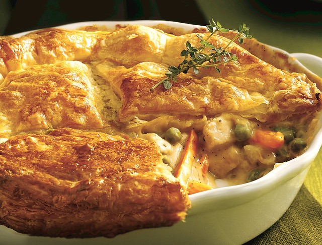 Chicken Pot Pie with Flaky Crust | Flickr - Photo Sharing!