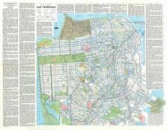 Ride the Muni: Street Map and Transit Map of San Francisco (1979)