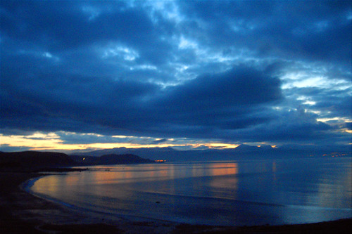Criccieth before sunrise