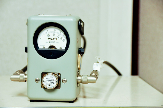 Header of wattmeter