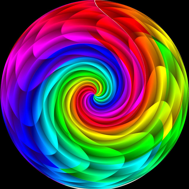 Flower power spiral