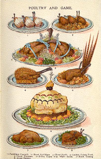 Edwardian Era Food Recipes