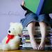 Burgeoning Bookworm by Ladydrake