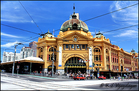 Flinders Station, Melbourne