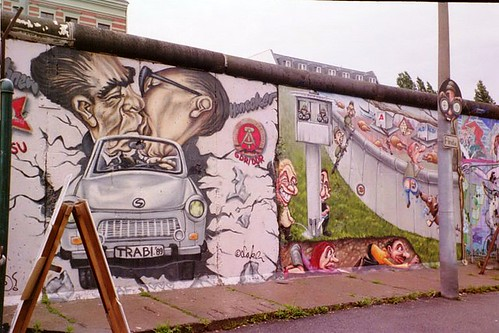 Berlin Wall by CC user carolynconner on Flickr