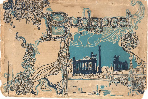 Old postcards of Budapest