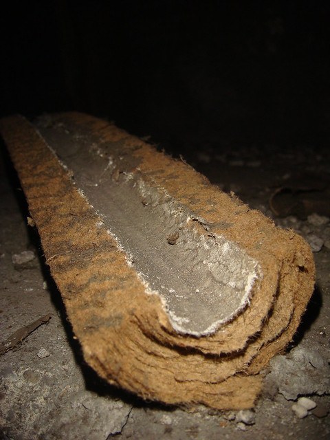 What Does Asbestos Paper Insulation Look Like