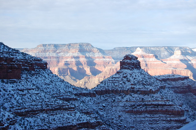 Snow-Covered Grand Canyon