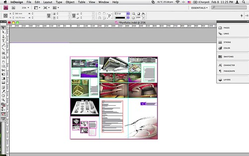 Making Portfolio in InDesign