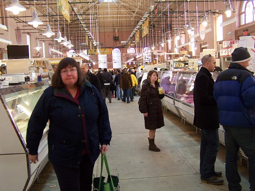 People at Eastern Market