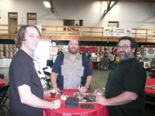 Ben Spencer, Dave Hopwood & Dave McLean