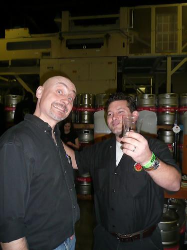 Lars Larson (Trumer) & Brendan Dobbel (Thirsty Bear)