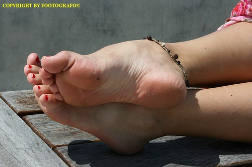 Arched foot fetish video