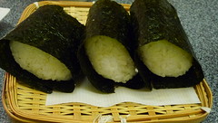 sushi, gimbap, produce, food, dish, cuisine, asian food, onigiri,