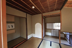 Japanese traditional style tea house / CHASHITSU  / 茶室(ちゃしつ)