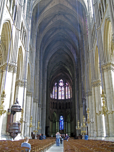 Reims Cathedral-interior | Flickr - Photo Sharing!
