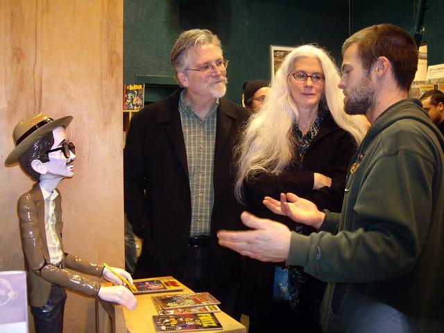 R. Crumb, Jim Woodring, Mary Woodring, Mike Leavitt