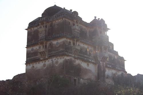 india ruins fort rajasthan chittorgarh