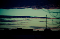 Fading Winter Sky