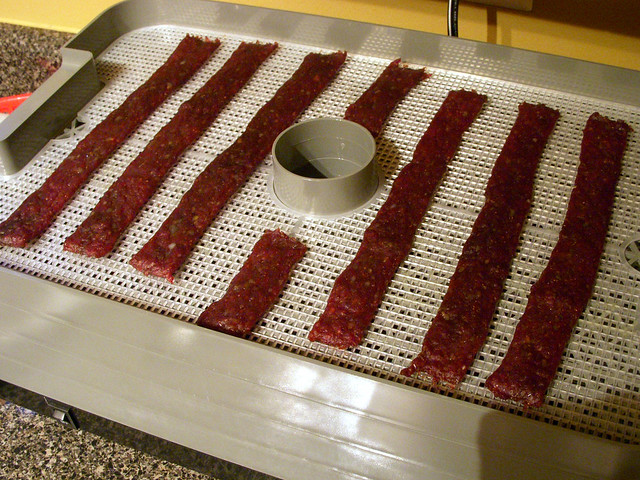 Beef jerky on my l'equip 528 dehydrator
