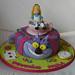 O marido da Paula fez-lhe uma surpresa com este bolo da Alice no País das Maravilhas esperemos que ela goste! Parabéns Paula! by Festa do Bolo