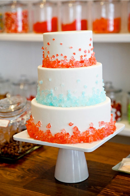 Rock Candy Wedding Cake-Candy Shop-Inspiration to Reality-Style Me Pretty