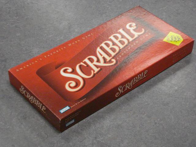 Volume of a Scrabble box Scrabble Box