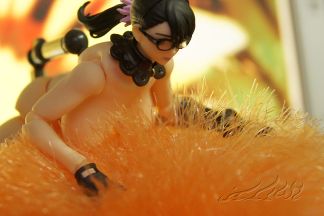 Photo:Glasses alteration for revoltech queen's blade Cattleya Katrea リボルテックQB  リボルテック 武器屋 カトレア  クイーンズブレイド By Skinning Bear
