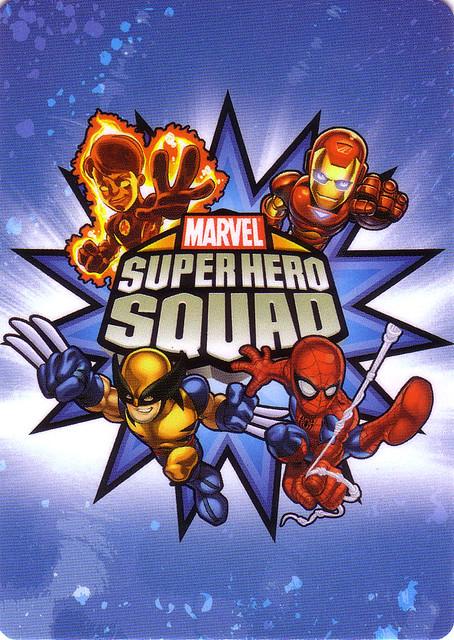 Superhero Squad Cards