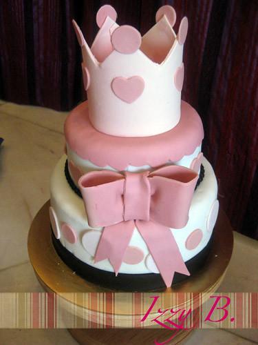 Simple Princess Cake Design : photo