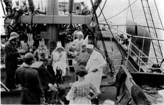 Neptune Party, Grace Line Steamer