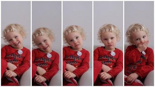 Lili in vijf gezichten