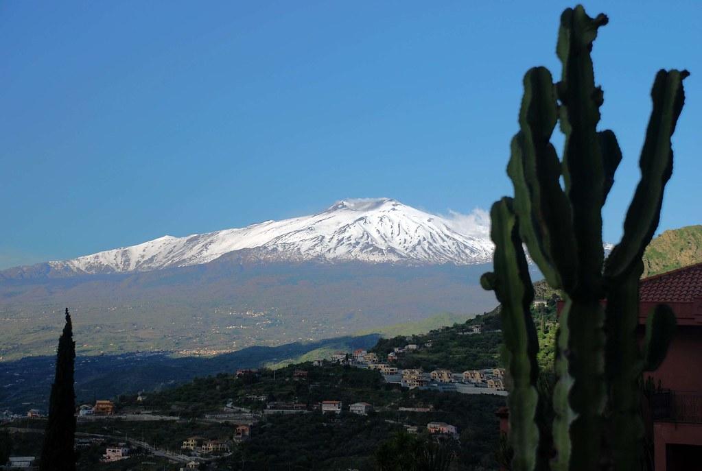 Etna from Villa Greta