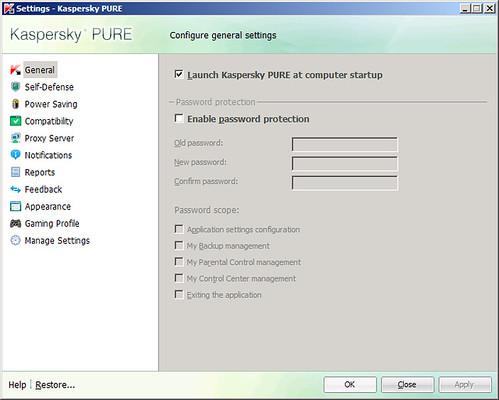 Kaspersky pure nuevo y gratis mientras sea beta poderpda for No puedo entrar en bankia oficina internet