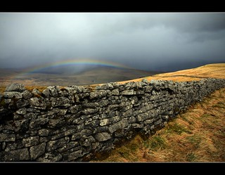Rainbow above Garsdale.