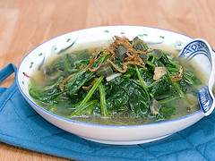 Spinach in Superior Broth