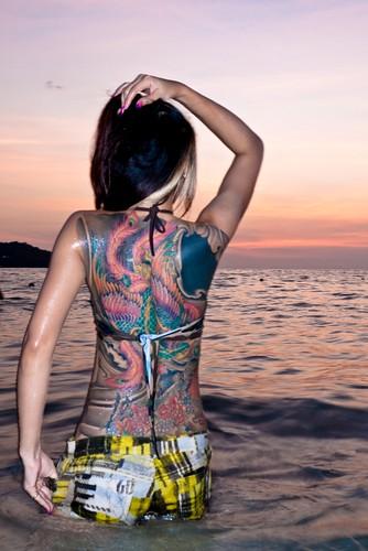 Tattoo Girl By Robart60 Tattoo Girl By Robart60