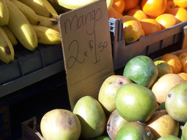 mango: 2/$1.50