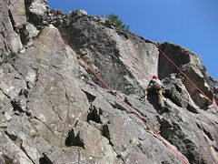 free solo climbing(0.0), ridge(0.0), adventure(1.0), mountain(1.0), individual sports(1.0), sports(1.0), recreation(1.0), outdoor recreation(1.0), mountaineering(1.0), rock climbing(1.0), sport climbing(1.0), geology(1.0), extreme sport(1.0), arãªte(1.0), terrain(1.0), climbing(1.0), rock(1.0), cliff(1.0),