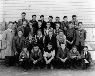 Trondheim Framhaldsskole, Klasse E 1957-58