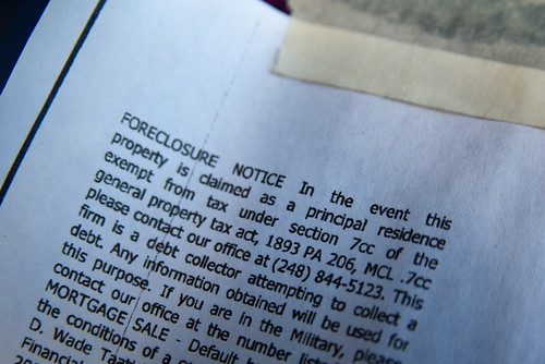 Avoiding foreclosure can be a challenge