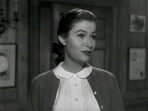Nancy Olson in Sunset Boulevard