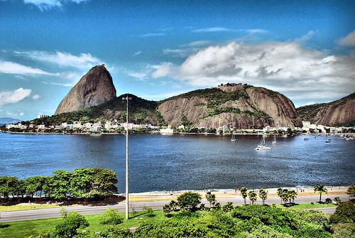 Rio de Janeiro Postcard Apr 2010