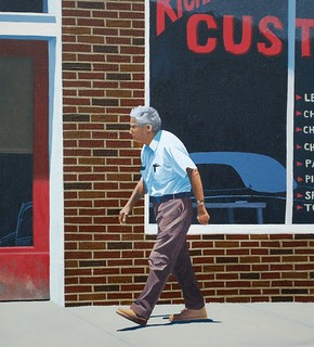"# 135. ""Custom Shop"" (detail, unfinished)"