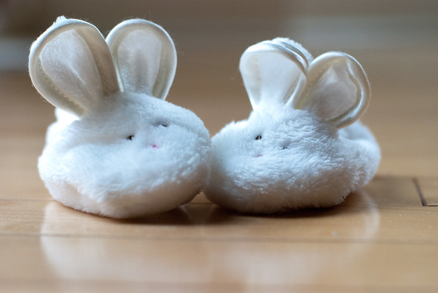 Bunny Slippers!