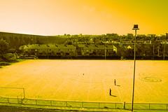 sport ground & aqueduct