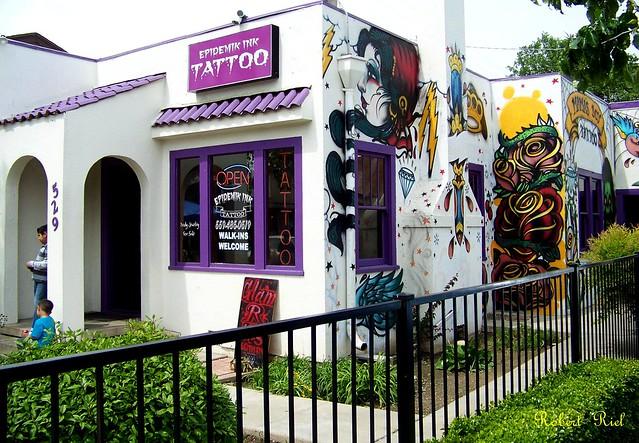 Epidemik tattoo fresno flickr photo sharing for Best tattoo shops in fresno